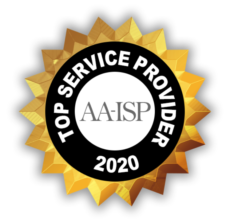 Conquer Receives Aa-isp's 2020 Service Provider Of The Year Award