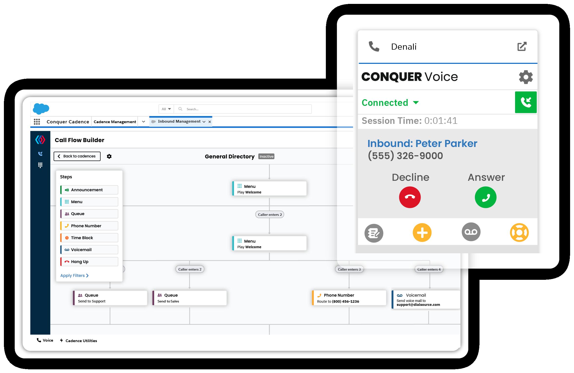 Conquer Cadence - Inbound & Outbound Voice