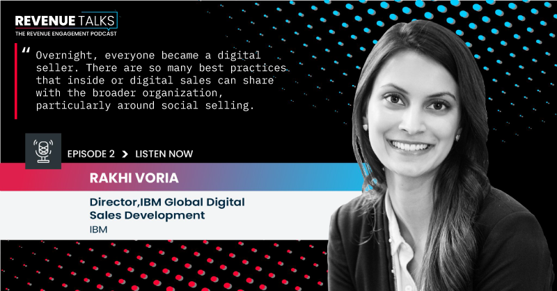 Revenue Talks Rhaki Voriah, Director, IBM Global Digital Sales, Conquer Podcast