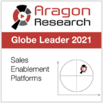 Aragon Sales Enablement Platforms Globe Leader Badge Conquer